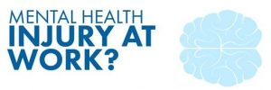 Mental health injury at work?