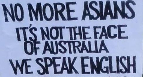 Asian discrimination in australia