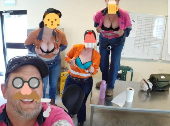 BHP Worker Who Showed Off Cleavage Wins Unfair Dismissal And $6,550